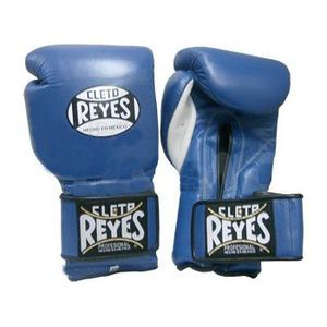 Guantes Cleto Reyes Azul Con Cierre De Contacto 16 Oz.