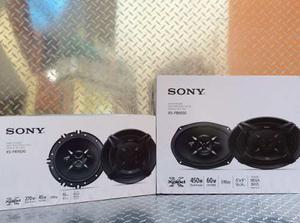 Juego De Bocinas Sony 6.5 Y 6x9 Modelo Xs-fb Y Xs-fb
