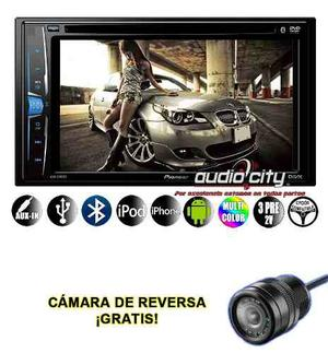 Pantalla 2 Din 6.2 Pioneer Avh-a205bt Bluetooth Ipod Iphone