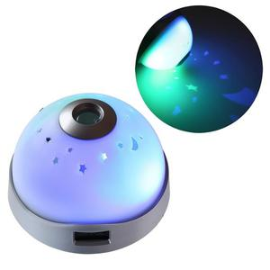 Reloj Despertador Con Proyector De Estrellas Y Hora H