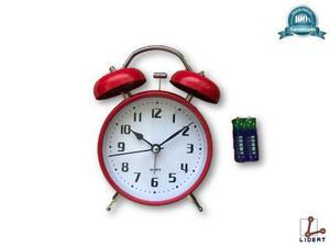 Reloj Despertador De Manecillas Con Alarma Quartz Gd-891
