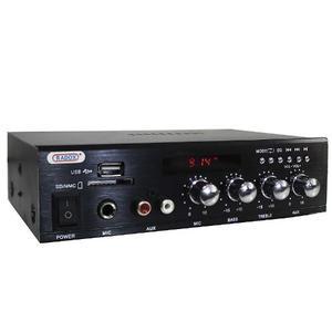 Amplificador Perifoneo Voceo Publidifusion Bluetooth Usb Sd