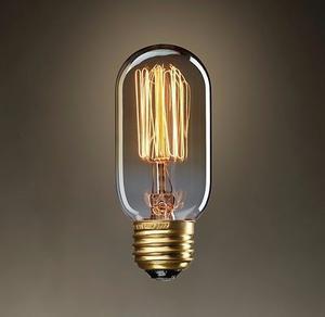 Foco Edison Vintage Chaparro 40 Watts E27 ¡innovador!