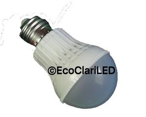 Foco Led 3 Watts Lampara Bombilla Bulbo E26 / E27 Menudeo