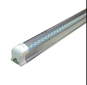 Lampara Doble Tira Led 24 W 1.2 M Con Accesorios/ Base Alum