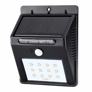 Lámpara Solar 10led Sensor De Movimiento Exterior