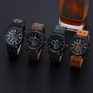 Lote De 4 Relojes Hombre Tipo Militar Sport Navy Seal