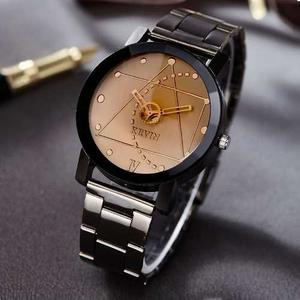 Reloj Metal Acero Negro Kevin Ingeniero Hombre Moda Mujer