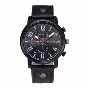 Reloj Para Hombre Moda Tipo Militar Vizer Caratula Grande