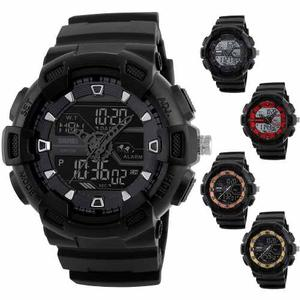 Reloj Skmei Militar Sport Navy Seal 5 Colores Sumergible 50m