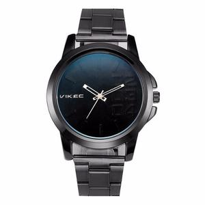 Reloj Vikec Black Metalico Negro Sin Envío Gratis