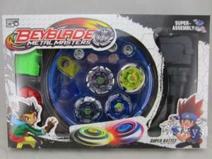 Bey Blade Kit Completo Con Campo De Batalla