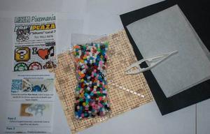 Paquete Principiante 900 Pz Y Accesorios Perler Hama Beads