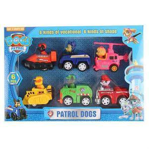 Set 6 Pz Patrulla Canina Paw Patrol Envío Gratis Hot Sale