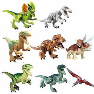 Set De 16 Dinosaurios De Jurásico Word Compatible Con Lego,