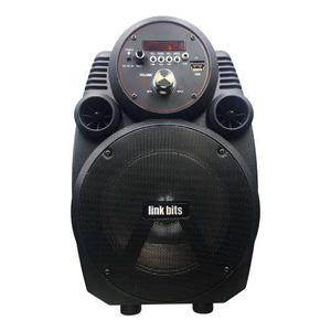 Bocina Bluetooth Bafle 6 Pulgadas Fm Usb Aux Sa601tk
