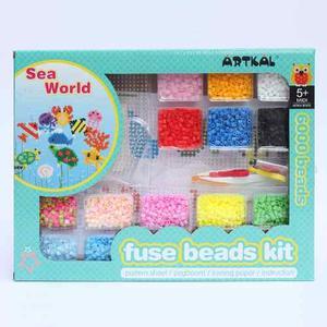 Kit Manualidades Artkal Beads Mundo Marino  Cuentas