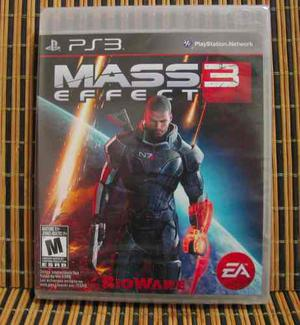 Mass Effect 3 - Ps3 Action Rpg - Electronic Arts / Bioware