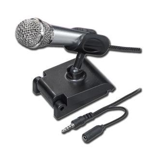 Mini Micrófono Metálico Para Grabar En Celulares Mitzu