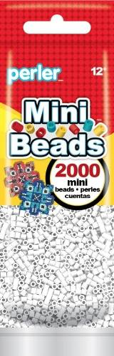 Perler Beads Mini !nuevo! Bolsa  Pz Original Blanco