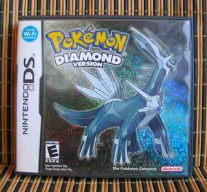 Pokemon Diamond Version - Nds Rpg - Nintendo / Game Freak