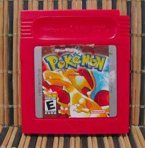 Pokemon Red Version - Game Boy Rpg - Nintendo / Game Freak
