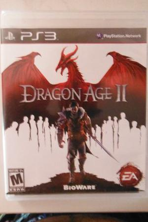 Ps3 Playstation Dragons Age Ii 2 Rpg Fantasia Epica Aventura