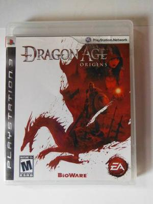 Ps3 Playstation Dragons Age Origins Rpg Fantasia Epica