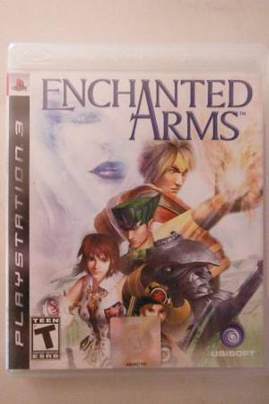 Ps3 Playstation Enchanted Arms Rpg Anime Magia Fantasia