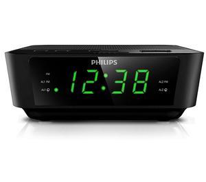 Radio Despertador Digital Philips Ajm