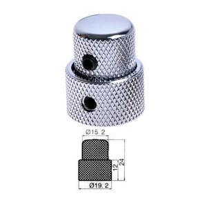 Knob Concéntrico Dual Perilla Doble Volumen Bajo/guitarra
