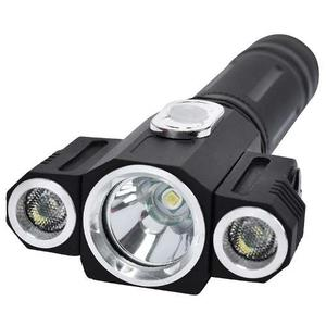 Lampara Tactica  Lm 3 Led T6 2 Xpe Giratorio 360 Iman