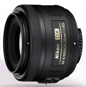 Lente Nikon Af Nikkor 35mm F/1.8g Nuevo