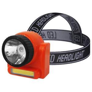 Lámpara Led Para Cabeza Recargable / Linterna Tipo Minero