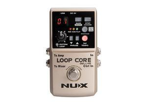 Pedal Nux Loop Core Deluxe 24-bit Looper Confirma Existenc *