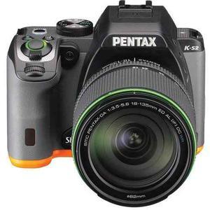 Pentax K-s2 Slr Lens Kit W/mm Wr Balck/orange 20 Mp We