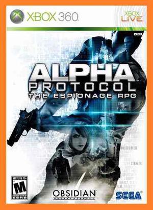 Alpha Protocol The Espionage Rpg Xbox 360
