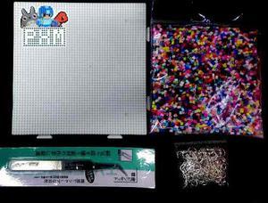 Beads Mini+base+pinza+papel+colgantes Aretes Kbmini