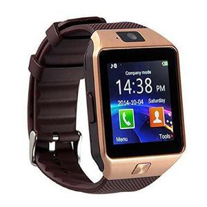Smartwatch Dz09 Reloj Solo Dorado Mayoreo