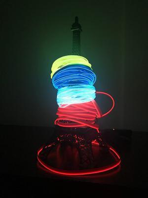 Wire Hilo Led Neón Flexibles 5m Para Coser