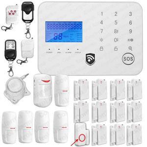 Alarmas Gsm Touch Inteligente 18s Seguridad Casa O Negocio
