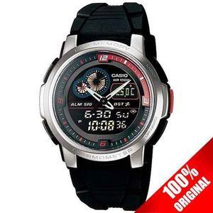 Reloj Casio Aqf102 Caucho - Termómetro - 50 Memorias