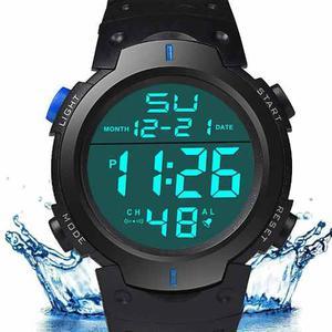 Reloj Led Contra Agua Hombre Moda Caballero Mayoreo Pieza Hx