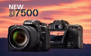 Cámara Nikon D Lente  Grabacion 4k Nueva Y