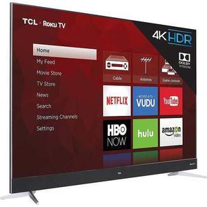 Pantalla Tcl 55 Smart Tv Roku 4k Ultra Hd 120hz Calidad