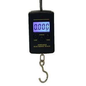 Bascula Digital Portatil 40kg Para Maletas Mandado Pesca