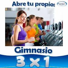 Gimnasio Inicia Tu Propio Negocio Gym Envío Gratis 3x1