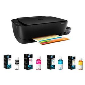 Multifuncional Tinta Continua Hp Deskjet Gt+juego Tintas
