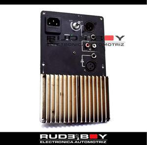 Amplificador, Poder, Modulo 2 Vias Repuesto Woofer, Driver