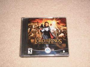 Juego Pc The Lord Of The Rings The Return Of The King